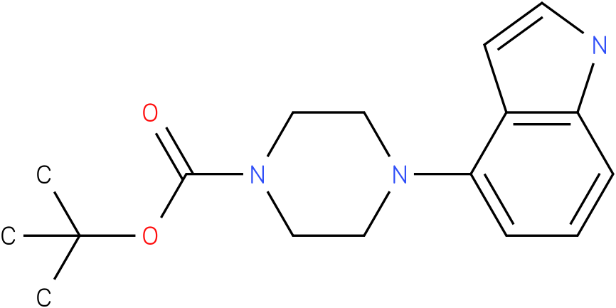 4-(1h-indol-4-yl)-piperazine-1-carboxylic acid tert-butyl ester