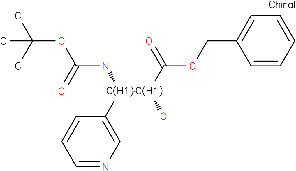 tert-butyl (1S,2R)-2-((benzyloxy)carbonyl)-2-hydroxy-1-(pyridin-3-yl)ethylcarbamate
