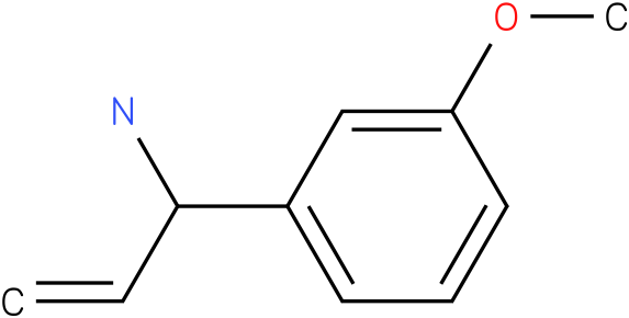 1-(3-methoxyphenyl)prop-2-en-1-amine