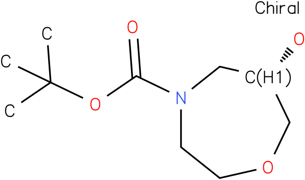 (S)-tert-butyl 6-hydroxy-1,4-oxazepane-4-carboxylate