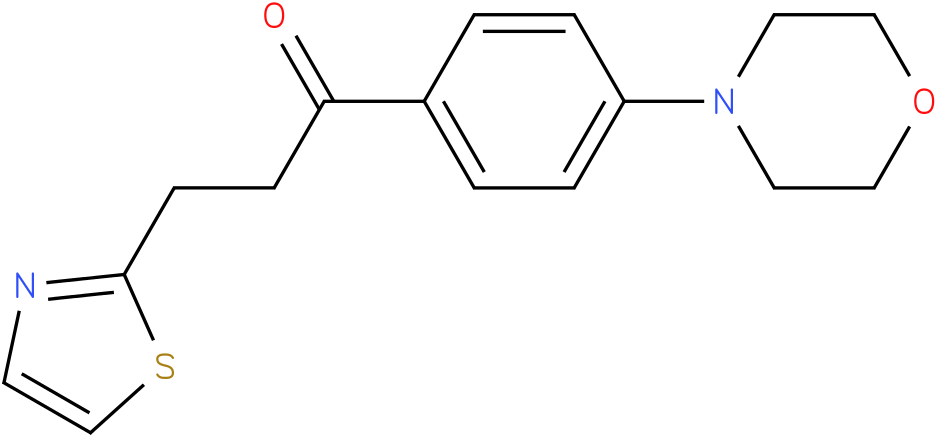 1-(4-Morpholin-4-yl-phenyl)-3-thiazol-2-yl-propan-1-one