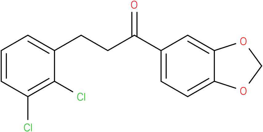 1-Benzo[1,3]dioxol-5-yl-3-(2,3-dichloro-phenyl)-propan-1-one