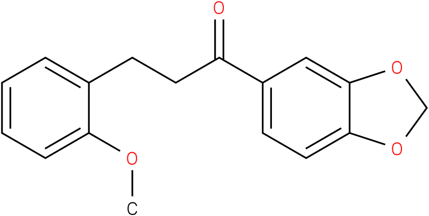 1-Benzo[1,3]dioxol-5-yl-3-(2-methoxy-phenyl)-propan-1-one