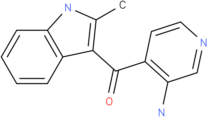 (3-Amino-pyridin-4-yl)-(2-methyl-1H-indol-3-yl)-methanone