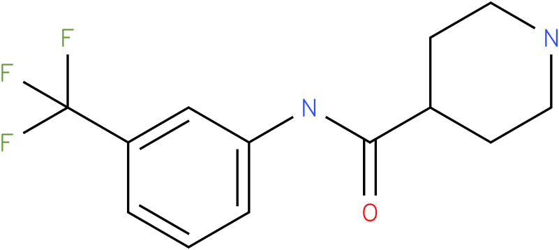 Piperidine-4-carboxylic acid (3-trifluoromethyl-phenyl)-amide