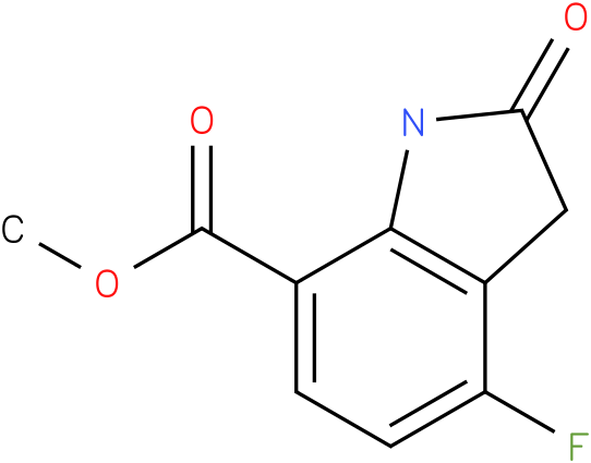 methyl 4-fluoro-2-oxoindoline-7-carboxylate