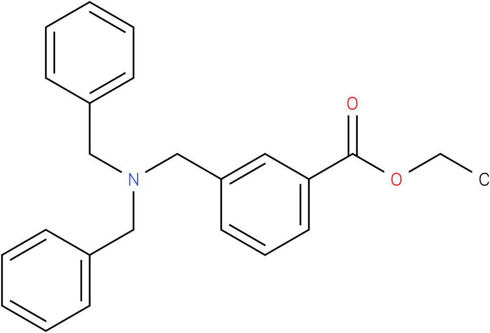 ethyl 3-((dibenzylamino)methyl)benzoate