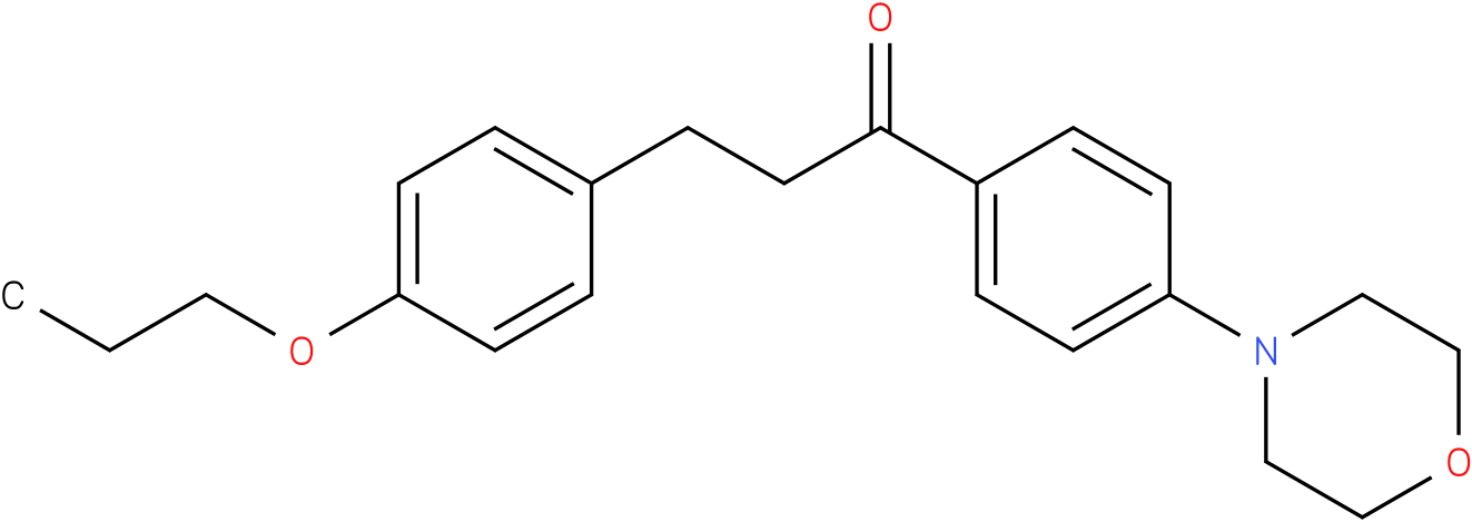 1-(4-Morpholin-4-yl-phenyl)-3-(4-propoxy-phenyl)-propan-1-one