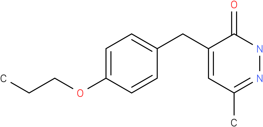 6-Methyl-4-(4-propoxy-benzyl)-2H-pyridazin-3-one