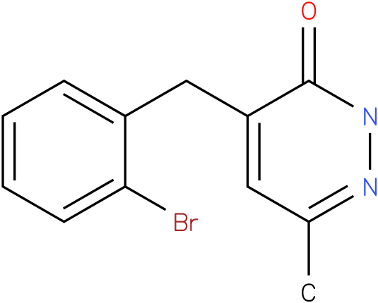 4-(2-Bromo-benzyl)-6-methyl-2H-pyridazin-3-one