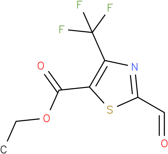 ethyl 2-formyl-4-(trifluoromethyl)thiazole-5-carboxylate