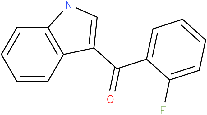 (2-Fluoro-phenyl)-(1H-indol-3-yl)-methanone