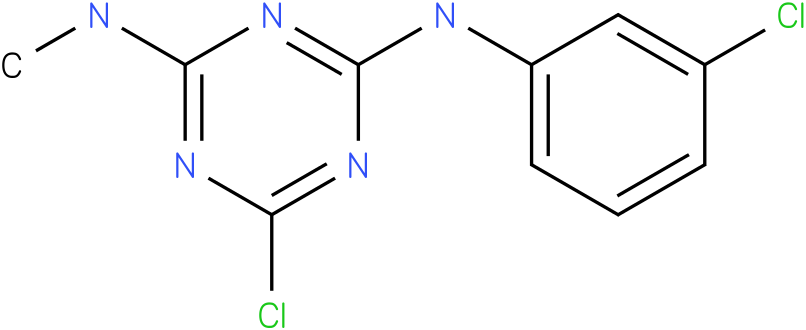 6-Chloro-N-(3-chloro-phenyl)-N'-methyl-[1,3,5]triazine-2,4-diamine