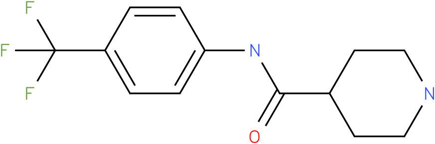 Piperidine-4-carboxylic acid (4-trifluoromethyl-phenyl)-amide