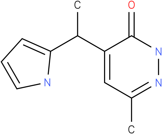 6-Methyl-4-(1-methyl-1H-pyrrol-2-ylmethyl)-2H-pyridazin-3-one