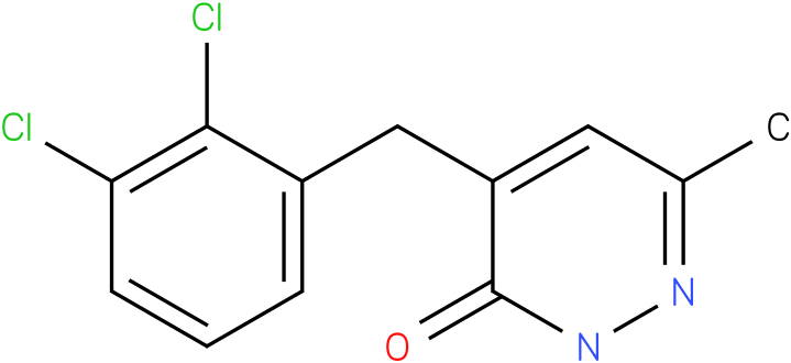 4-(2,3-Dichloro-benzyl)-6-methyl-2H-pyridazin-3-one
