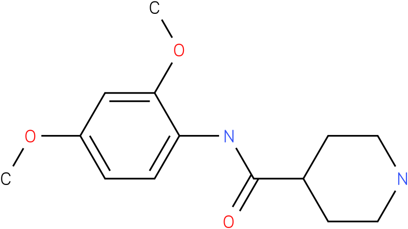 Piperidine-4-carboxylic acid (2,4-dimethoxy-phenyl)-amide
