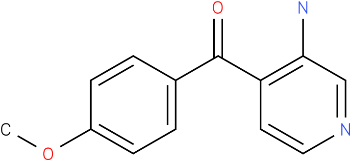 (3-Amino-pyridin-4-yl)-(4-methoxy-phenyl)-methanone