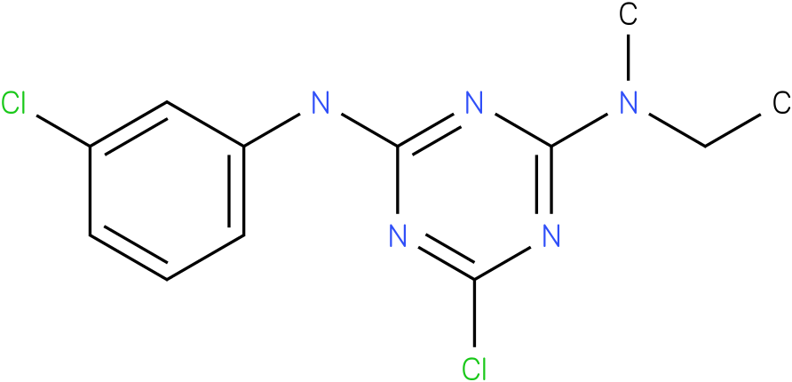 6-Chloro-N-(3-chloro-phenyl)-N'-ethyl-N'-methyl-[1,3,5]triazine-2,4-diamine