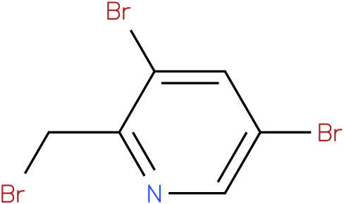 3,5-dibromo-2-(bromomethyl)pyridine