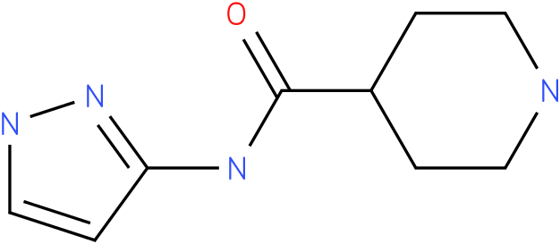 Piperidine-4-carboxylic acid (1H-pyrazol-3-yl)-amide