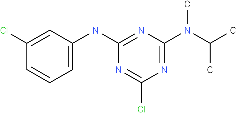 6-Chloro-N-(3-chloro-phenyl)-N'-isopropyl-N'-methyl-[1,3,5]triazine-2,4-diamine