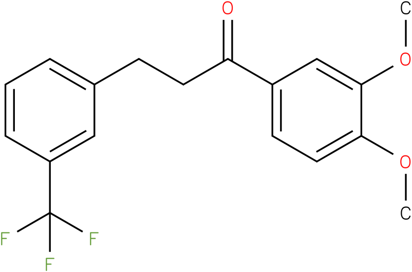 1-(3,4-Dimethoxy-phenyl)-3-(3-trifluoromethyl-phenyl)-propan-1-one