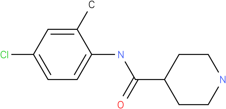 Piperidine-4-carboxylic acid (4-chloro-2-methyl-phenyl)-amide