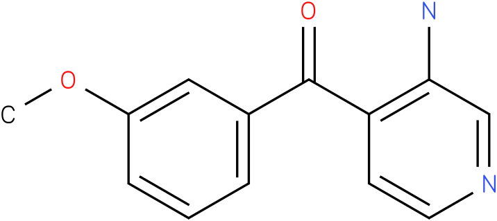 (3-Amino-pyridin-4-yl)-(3-methoxy-phenyl)-methanone