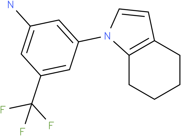 3-(4,5,6,7-Tetrahydro-indol-1-yl)-5-trifluoromethyl-phenylamine