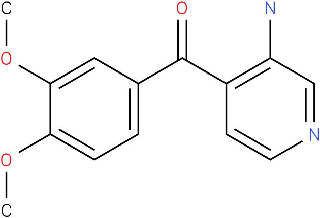 (3-Amino-pyridin-4-yl)-(3,4-dimethoxy-phenyl)-methanone