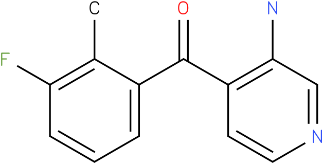 (3-Amino-pyridin-4-yl)-(3-fluoro-2-methyl-phenyl)-methanone