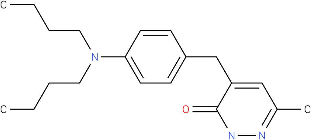 4-(4-Dibutylamino-benzyl)-6-methyl-2H-pyridazin-3-one