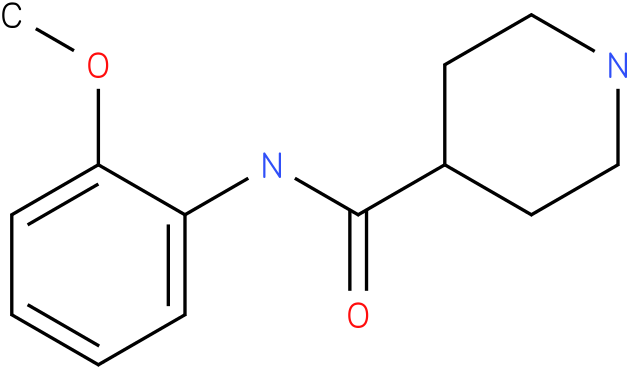 Piperidine-4-carboxylic acid (2-methoxy-phenyl)-amide