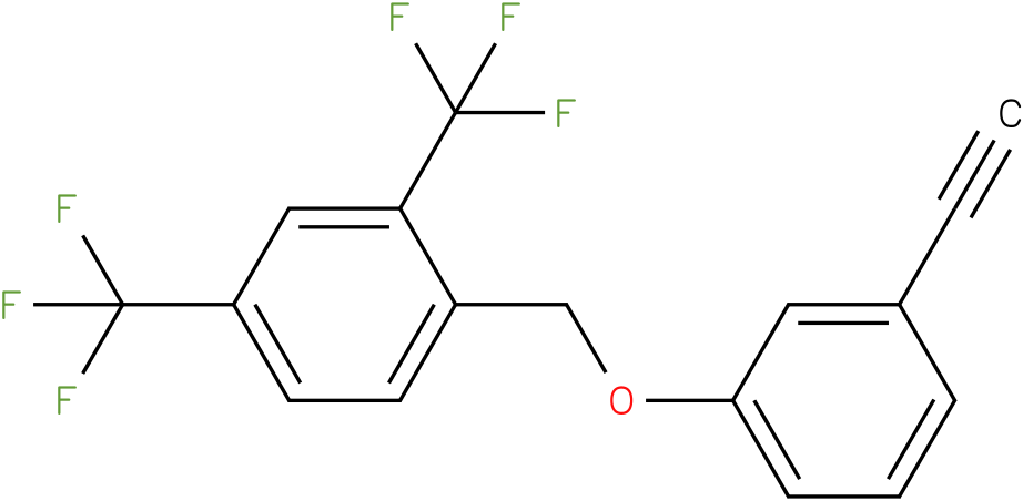 1-(3-Ethynyl-phenoxymethyl)-2,4-bis-trifluoromethyl-benzene