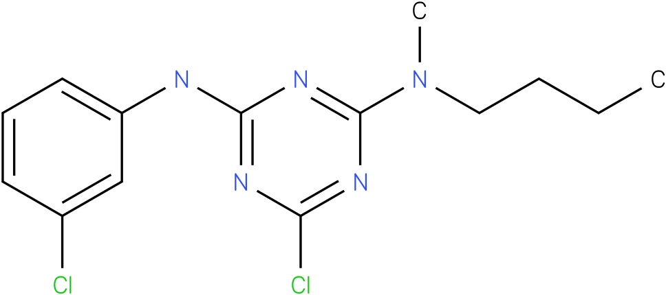 N-Butyl-6-chloro-N'-(3-chloro-phenyl)-N-methyl-[1,3,5]triazine-2,4-diamine