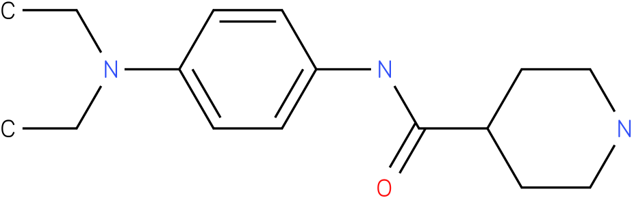 Piperidine-4-carboxylic acid (4-diethylamino-phenyl)-amide