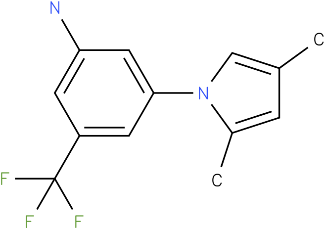 3-(2,4-Dimethyl-pyrrol-1-yl)-5-trifluoromethyl-phenylamine