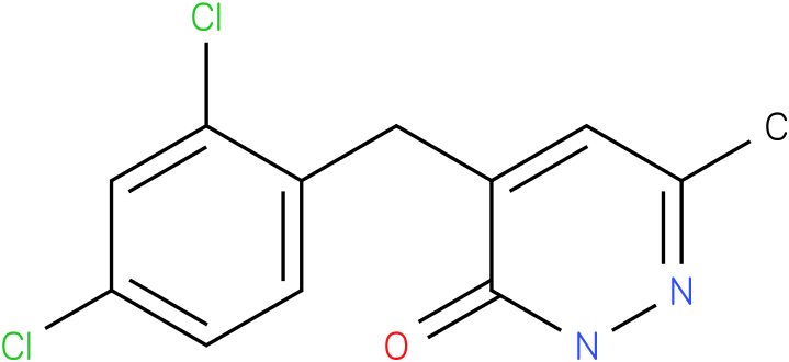 4-(2,4-Dichloro-benzyl)-6-methyl-2H-pyridazin-3-one