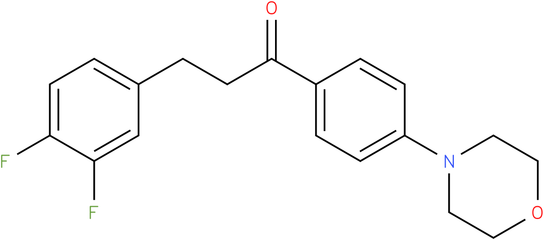 3-(3,4-Difluoro-phenyl)-1-(4-morpholin-4-yl-phenyl)-propan-1-one