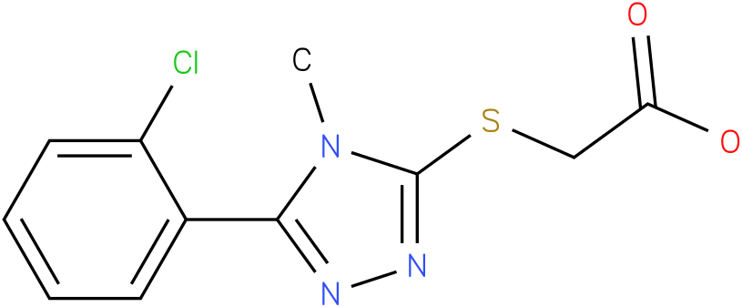 [5-(2-Chloro-phenyl)-4-methyl-4H-[1,2,4]triazol-3-ylsulfanyl]-acetic acid
