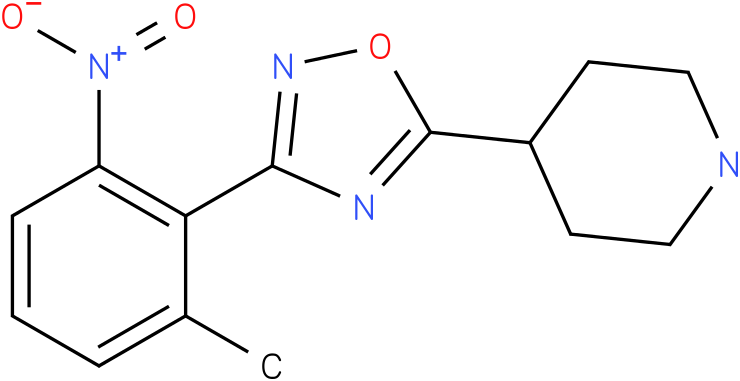 4-[3-(2-Methyl-6-nitro-phenyl)-[1,2,4]oxadiazol-5-yl]-piperidine