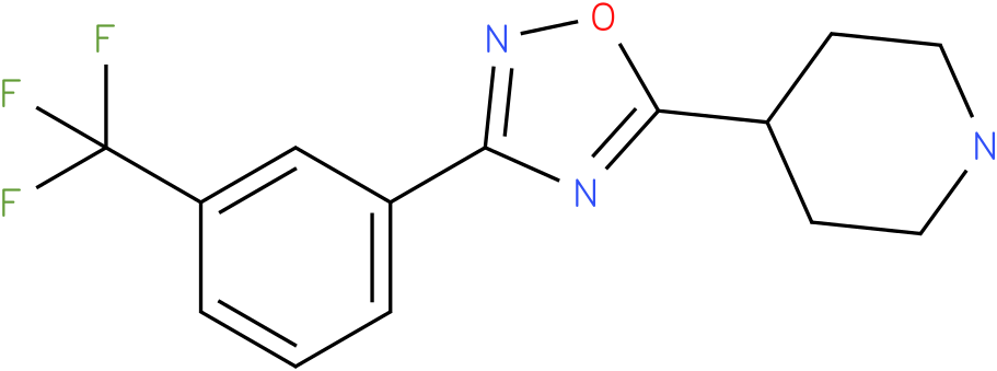 4-[3-(3-Trifluoromethyl-phenyl)-[1,2,4]oxadiazol-5-yl]-piperidine