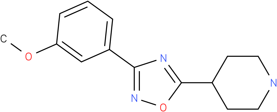 4-[3-(3-Methoxy-phenyl)-[1,2,4]oxadiazol-5-yl]-piperidine