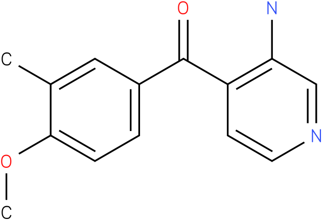 (3-Amino-pyridin-4-yl)-(4-methoxy-3-methyl-phenyl)-methanone