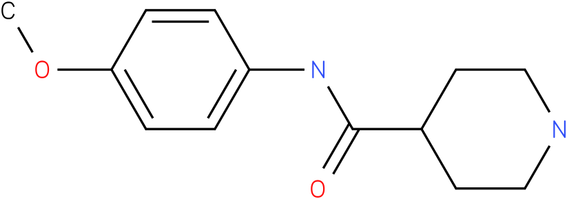 Piperidine-4-carboxylic acid (4-methoxy-phenyl)-amide