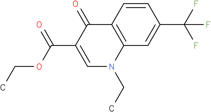 1-Ethyl-4-oxo-7-trifluoromethyl-1,4-dihydro-quinoline-3-carboxylic acid ethyl ester