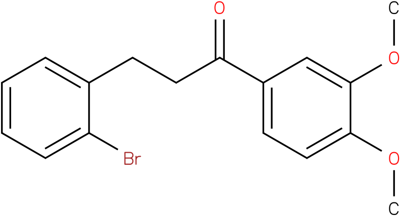 3-(2-Bromo-phenyl)-1-(3,4-dimethoxy-phenyl)-propan-1-one