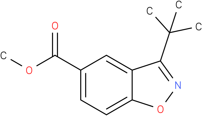 methyl 3-tert-butylbenzo[d]isoxazole-5-carboxylate