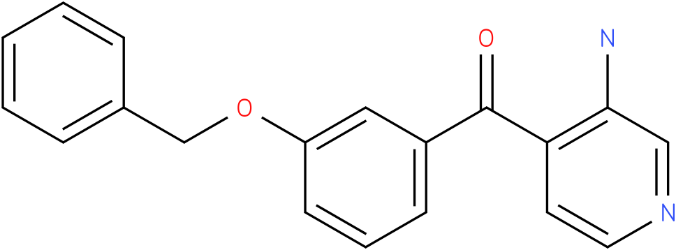(3-Amino-pyridin-4-yl)-(3-benzyloxy-phenyl)-methanone